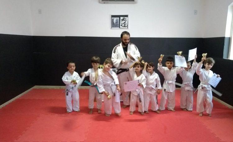 Novos judocas