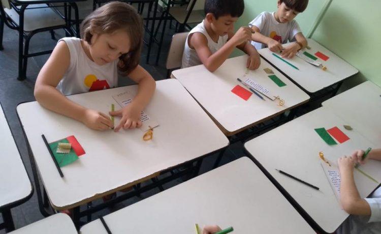 Aula de artes o Infantil III