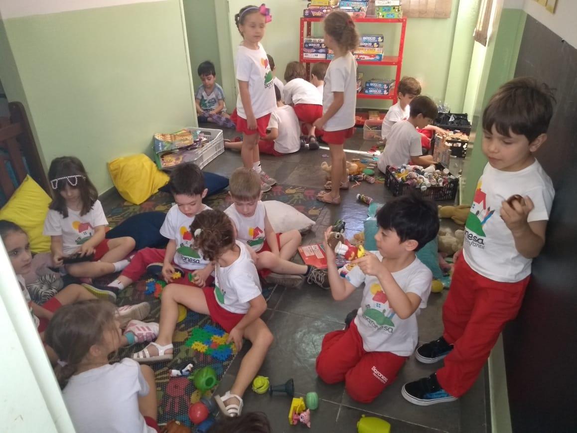 ❤O PROJETO INTEGRAÇÃO das turmas do Infantil II e III tem o objetivo de integrá-las e prepará-las para o próximo ano. Neste projeto, as crianças brincam e divertem-se realizando atividades dirigidas com a Professora Patricia.❤